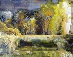 Torbiere d'Iseo. La bellezza della natura di Maurizio Galasso e la Pixel Art