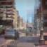 Dipinto in pixel art del Corso di Avellino